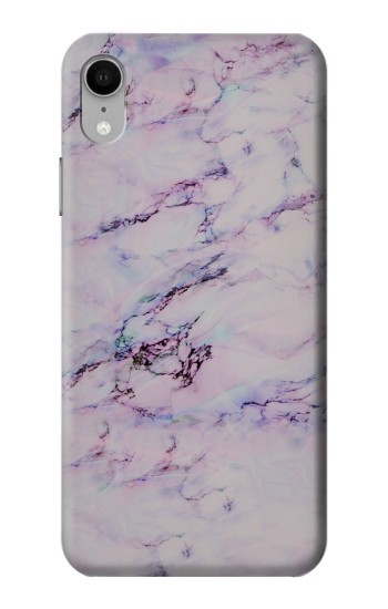 Printed Seamless Pink Marble iPhone XR Case