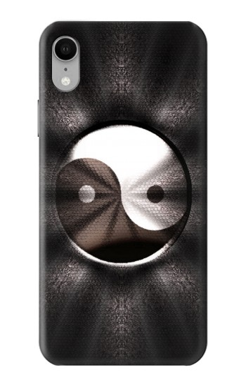 Printed Yin Yang Symbol iPhone XR Case