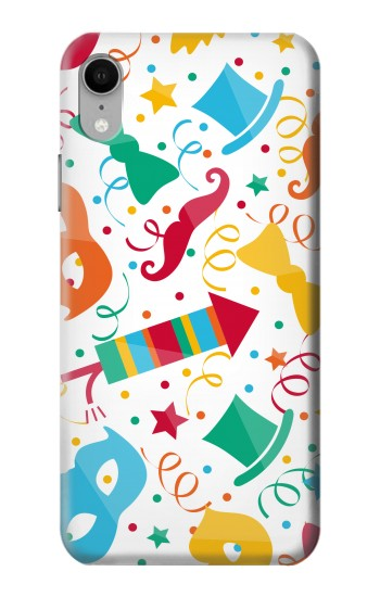 Printed Carnival Pattern iPhone XR Case
