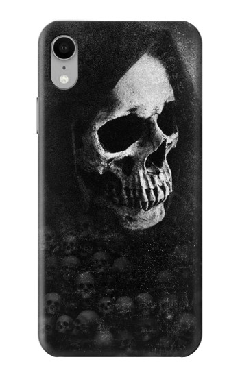 Printed Death Skull iPhone XR Case