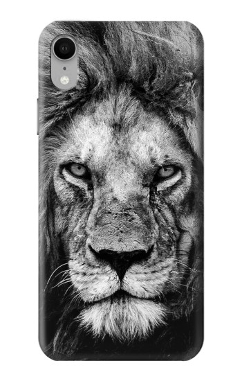 Printed Lion Face iPhone XR Case