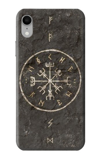 Printed Norse Ancient Viking Symbol iPhone XR Case