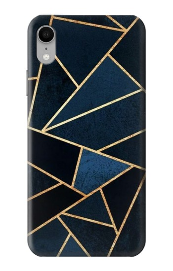 Printed Navy Blue Graphic Art iPhone XR Case