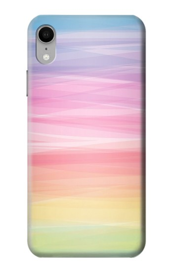 Printed Colorful Rainbow Pastel iPhone XR Case