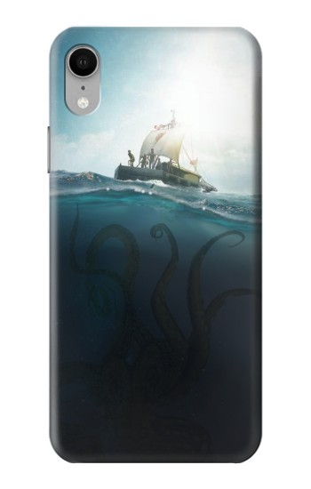 Printed Giant Octopus iPhone XR Case