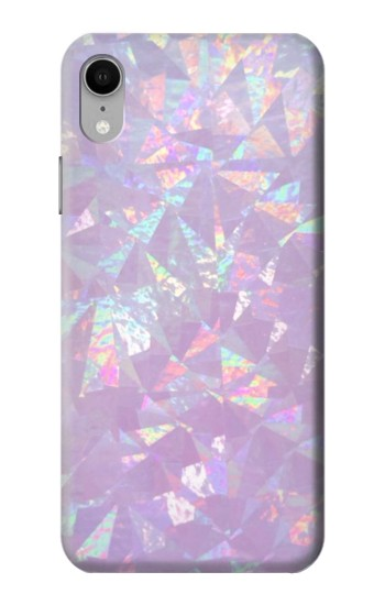 Printed Iridescent Holographic Photo Printed iPhone XR Case