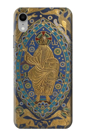 Printed Book Cover Christ Majesty iPhone XR Case