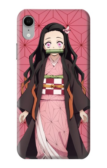 Printed Demon Slayer Kimetsu no Yaiba Nezuko iPhone XR Case