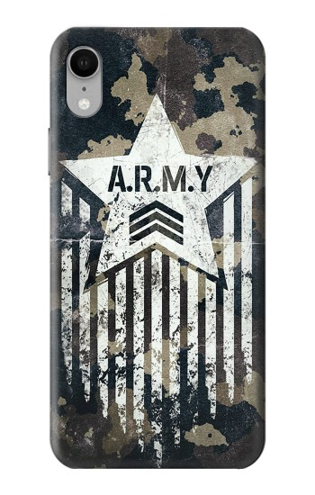 Printed Army Camo Camouflage iPhone XR Case
