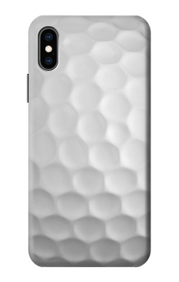 Printed Golf Ball iPhone XS Case