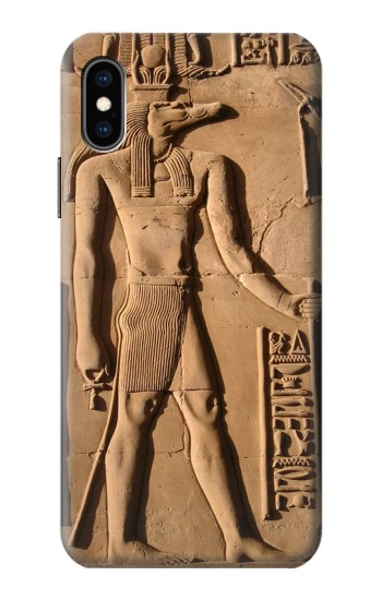 Printed Egyptian Anubis iPhone XS Case