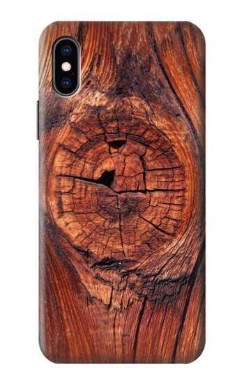 Printed Wood iPhone XS Case