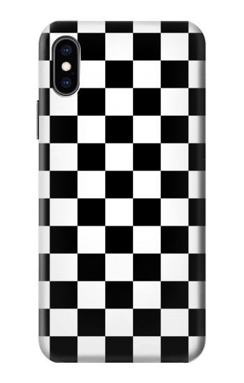 Printed Checkerboard Chess Board iPhone XS Case