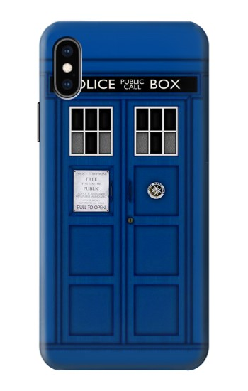Printed Doctor Who Tardis iPhone XS Case