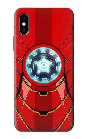 Printed Ironman Armor Arc Reactor Graphic Printed iPhone XS Case