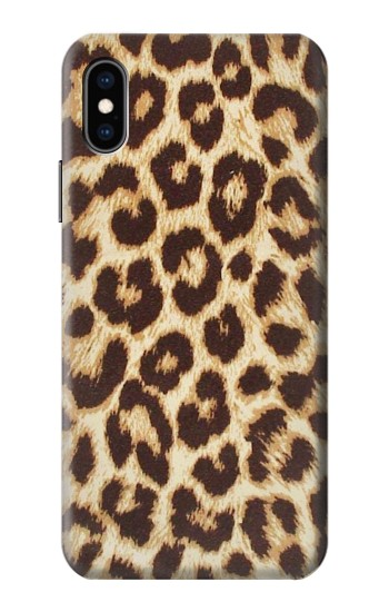 Printed Leopard Pattern Graphic Printed iPhone XS Case