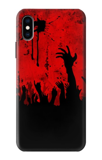 Printed Zombie Hands iPhone XS Case