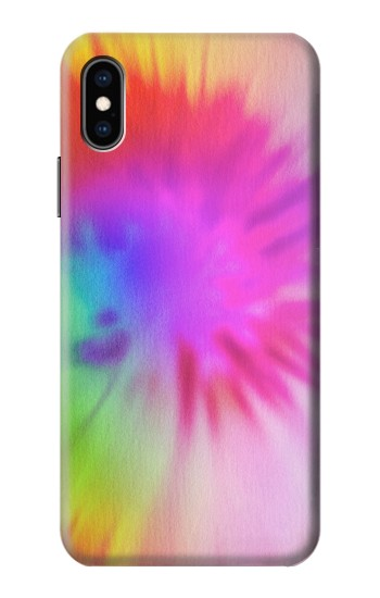 Printed Tie Dye Color iPhone XS Case
