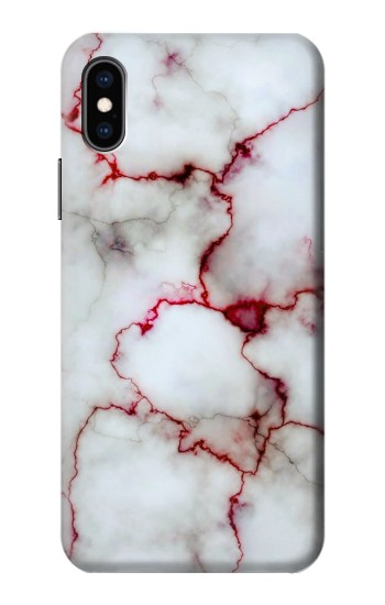 Printed Bloody Marble iPhone XS Case