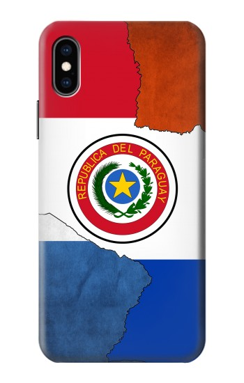 Printed Paraguay Flag iPhone XS Case