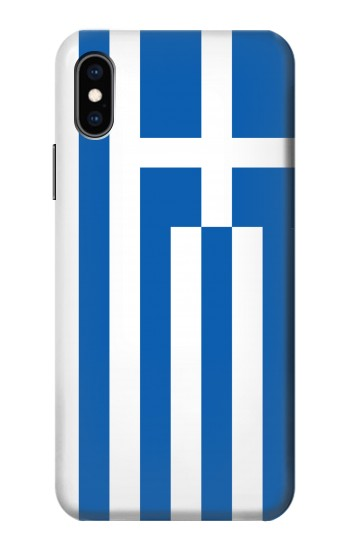 Printed Flag of Greece iPhone XS Case