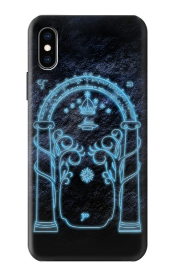 Printed Lord of The Rings Mines of Moria Gate iPhone XS Case