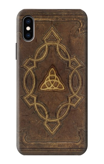 Printed Spell Book Cover iPhone XS Case