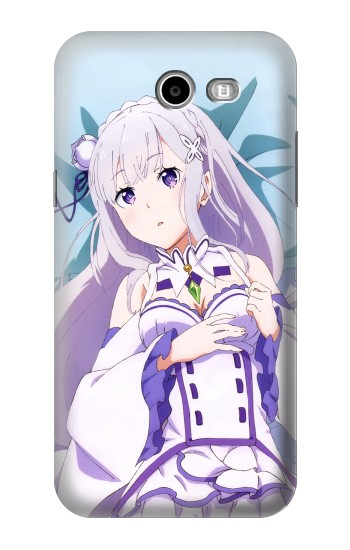 Printed Emilia Re Zero Starting Life in Another World Asus Zenfone 2 Laser ZE600KL Case