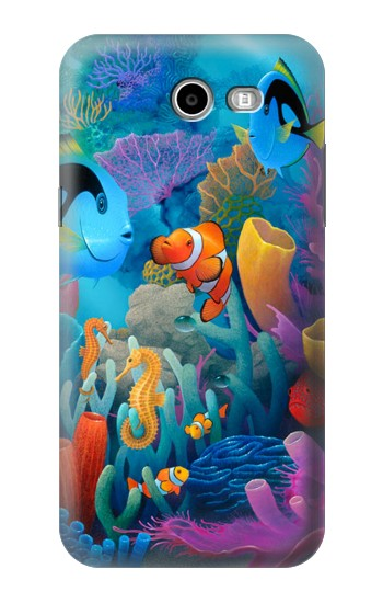 Printed Underwater World Cartoon Asus Zenfone 2 Laser ZE600KL Case