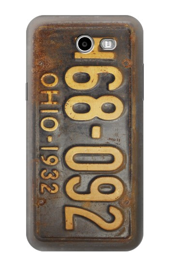 Printed Vintage Car License Plate Asus Zenfone 2 Laser ZE600KL Case