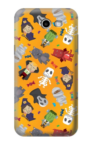 Printed Cute Halloween Cartoon Pattern Asus Zenfone 2 Laser ZE600KL Case