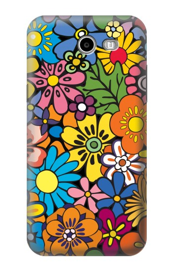 Printed Colorful Flowers Pattern Asus Zenfone 2 Laser ZE600KL Case