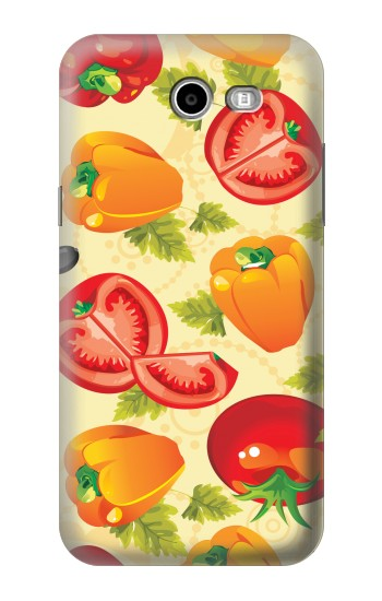 Printed Seamless Food Vegetable Asus Zenfone 2 Laser ZE600KL Case