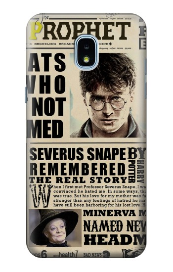 Printed Harry Potter Daily Prophet Samsung Galaxy J3 (2018) Case