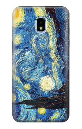 Printed Van Gogh Starry Nights Samsung Galaxy J3 (2018) Case