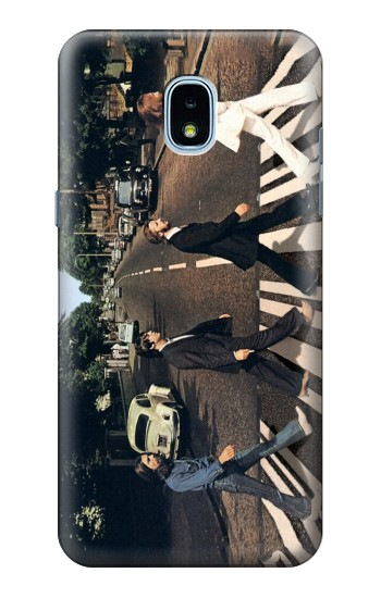Printed The Beatles Abbey Road Samsung Galaxy J3 (2018) Case