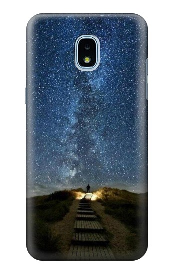 Printed Stairway to Heaven Iceland Samsung Galaxy J3 (2018) Case