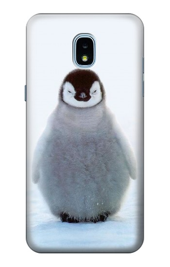 Printed Penguin Ice Samsung Galaxy J3 (2018) Case