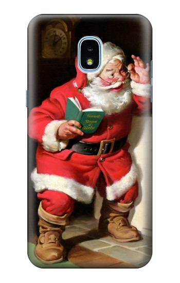 Printed Santa Claus Merry Xmas Samsung Galaxy J3 (2018) Case