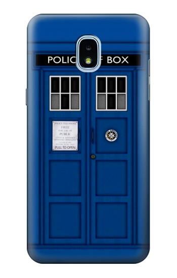Printed Doctor Who Tardis Samsung Galaxy J3 (2018) Case