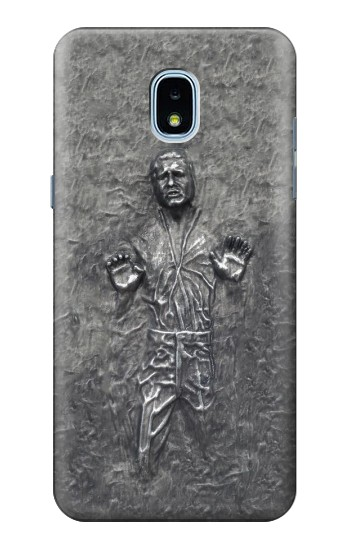 Printed Han Solo in Carbonite Samsung Galaxy J3 (2018) Case