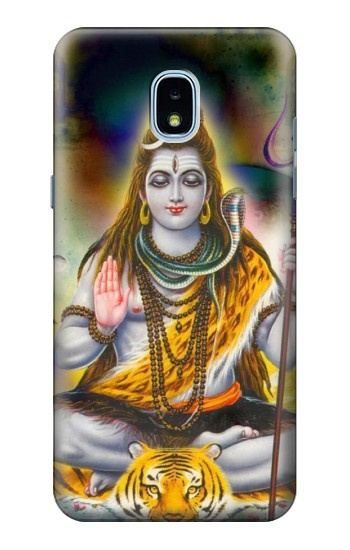 Printed Lord Shiva Hindu God Samsung Galaxy J3 (2018) Case