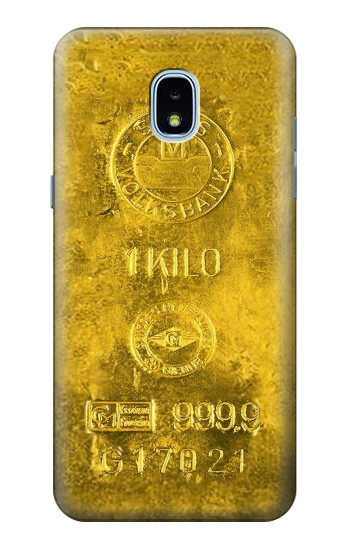 Printed One Kilo Gold Bar Samsung Galaxy J3 (2018) Case