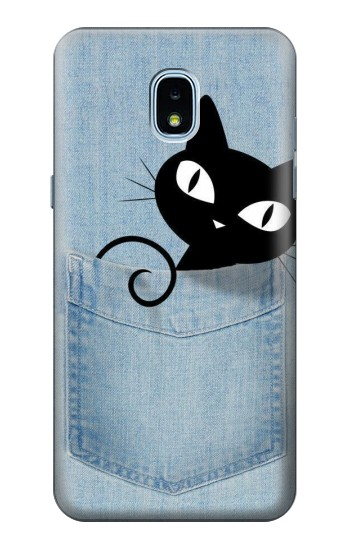Printed Pocket Cat Samsung Galaxy J3 (2018) Case