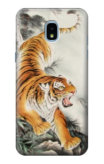 Printed Chinese Tiger Tattoo Painting Samsung Galaxy J3 (2018) Case