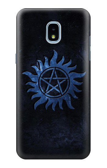 Printed Supernatural Anti Possession Symbol Samsung Galaxy J3 (2018) Case