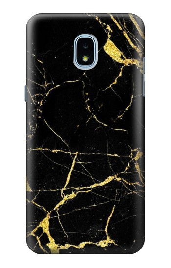 Printed Gold Marble Graphic Printed Samsung Galaxy J3 (2018) Case