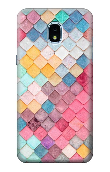 Printed Candy Minimal Pastel Colors Samsung Galaxy J3 (2018) Case