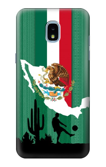 Printed Mexico Football Flag Samsung Galaxy J3 (2018) Case
