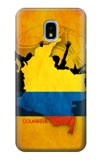 Printed Colombia Football Flag Samsung Galaxy J3 (2018) Case